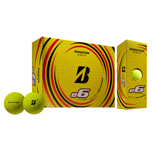 Mens Bridgestone Golf E6 Yellow Dz Yellow