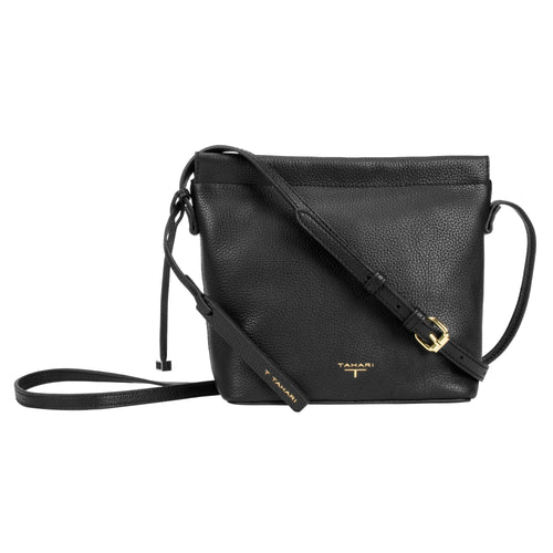 Tahari Sienna Bucket Leather Crossbody Bag - TT2021LE