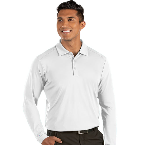 Antigua Men's Tribute Long Sleeve Polo - A104331