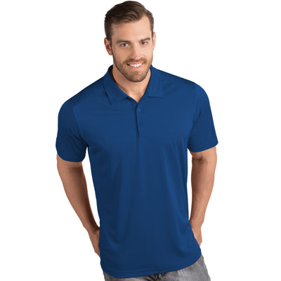 Antigua Men's Tribute Polo Dark Royal