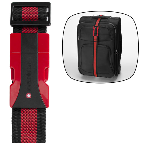 Maple Leaf Luggage Strap - MLT6188RE