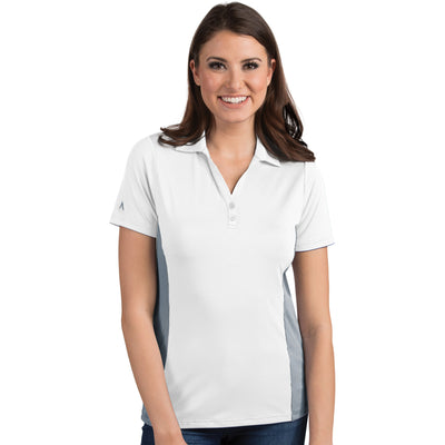 Antigua Women's Venture Polo White