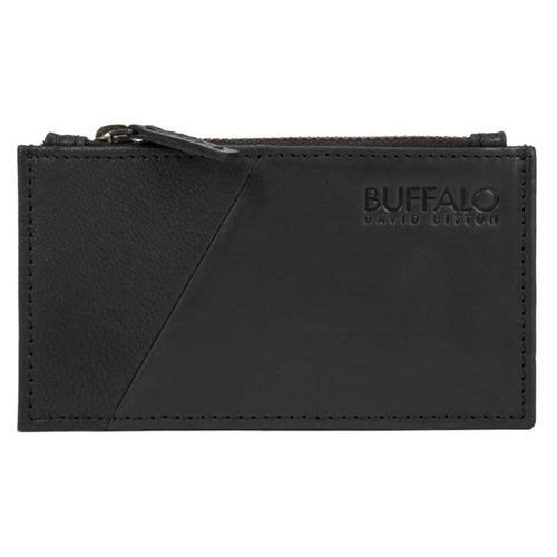 Buffalo David Bitton Annex Credit Card Wallet With Zipper - BUF2001661502