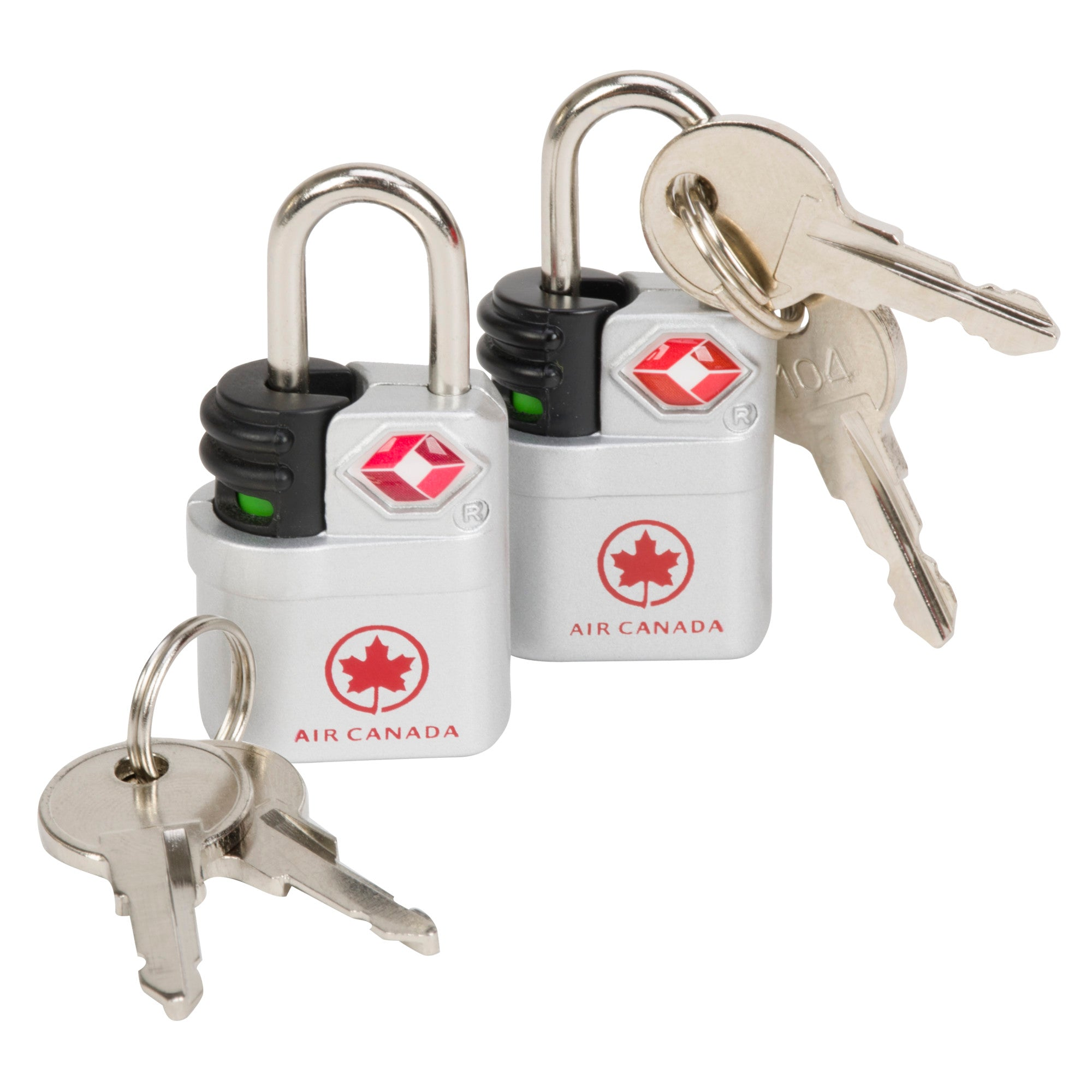 Air Canada Search Indicator Travel Sentry Key Lock (Set Of 2) - ACP4292SL