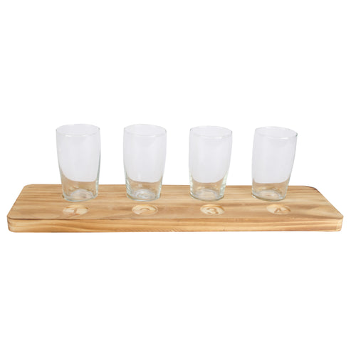 Refinery Beer Tasting Flight Set - 5-Piece - RF7211CT18