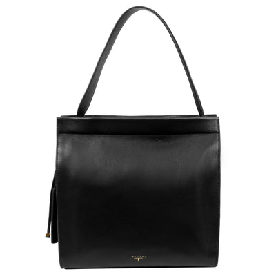 Tahari Sienna Bucket Leather Handbag - TT3009LE
