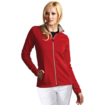 Antigua Women's Leader Jacket Dark Red