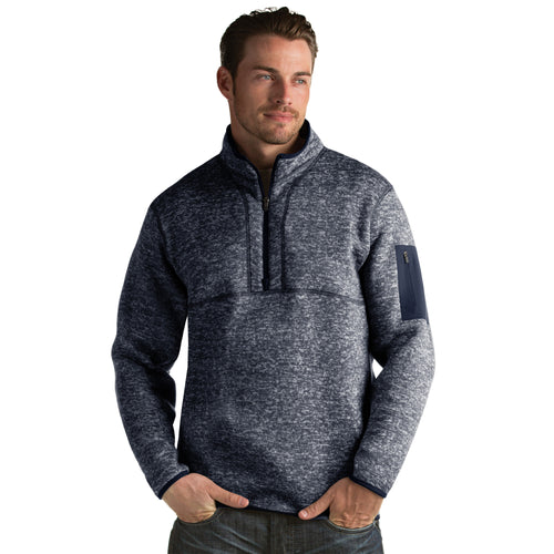 Antigua Men's Fortune Pullover Navy Heather