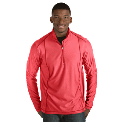 Antigua Men's Tempo Pullover Dark Red