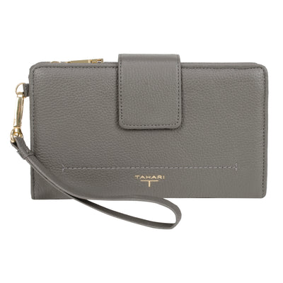 Tahari Sienna Deluxe Clutch Leather Wristlet - TS1865LE