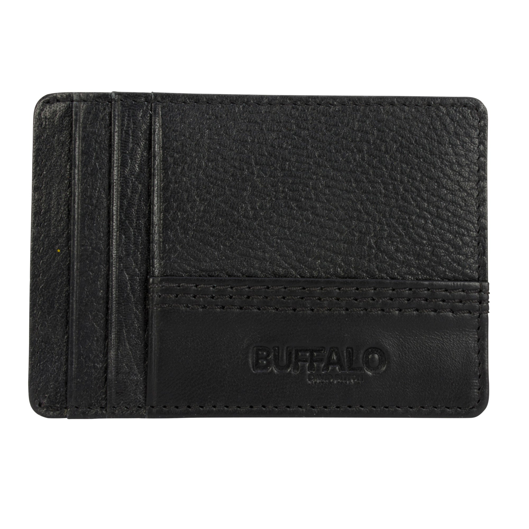 Buffalo David Bitton Harrison Money Clip Card Case - BUF199625002