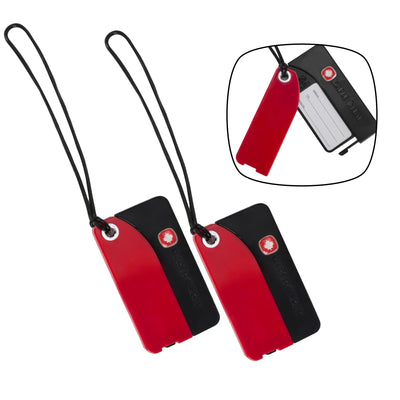 Maple Leaf Luggage Tag (Set Of 2) - MLT6185RE