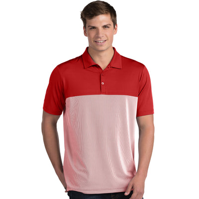 Antigua Men's Venture Polo Drak Red