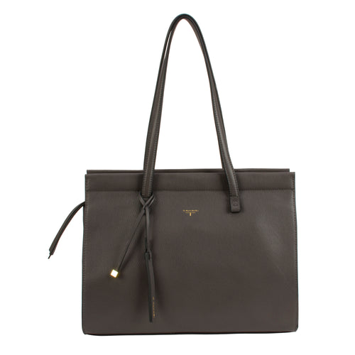 Tahari Sienna Shopper Leather Tote - TT7031LE