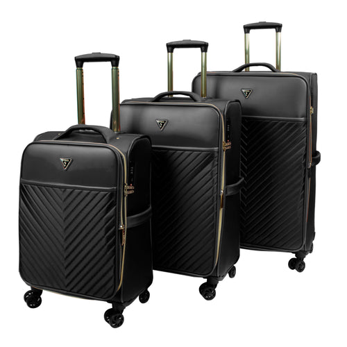 Guess 3Pc Melissa Collection Luggage Set - T690298