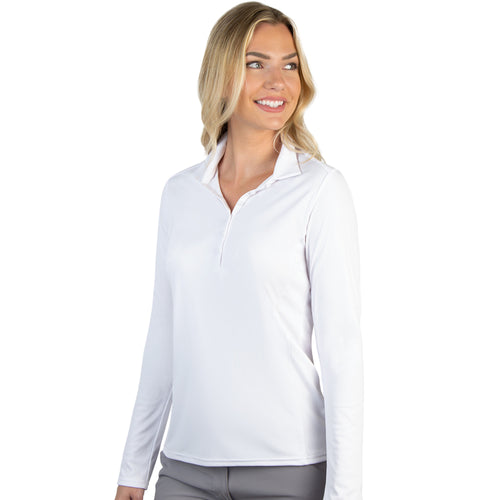 Antigua Women's Tribute Long Sleeve Polo - A104354