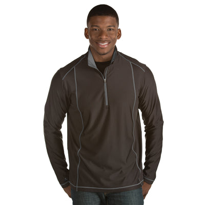 Antigua Men's Tempo Pullover Black
