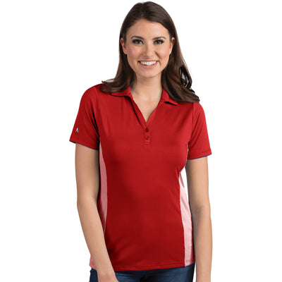 Antigua Women's Venture Polo Dark Red