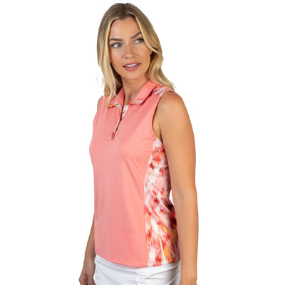 Antigua Women's Olympia Sleeveless Polo - A104303