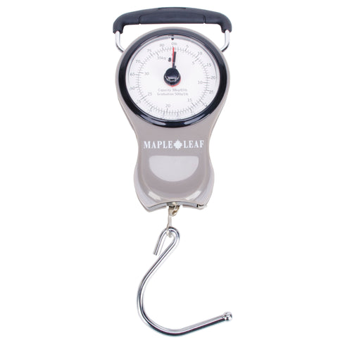 Maple Leaf Luggage Scale & Tape Measure - MLT6306GY