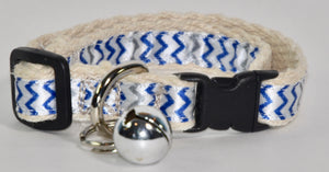 Hemp Cat Collar Summer Collection