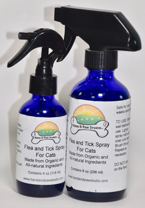 Flea and Tick Spray for Cats
