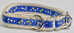 "1"" HEMP MARTINGALE BONES COLLECTION"