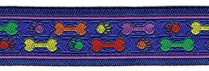 "1 1/2"" HEMP MARTINGALE BONES COLLECTION"