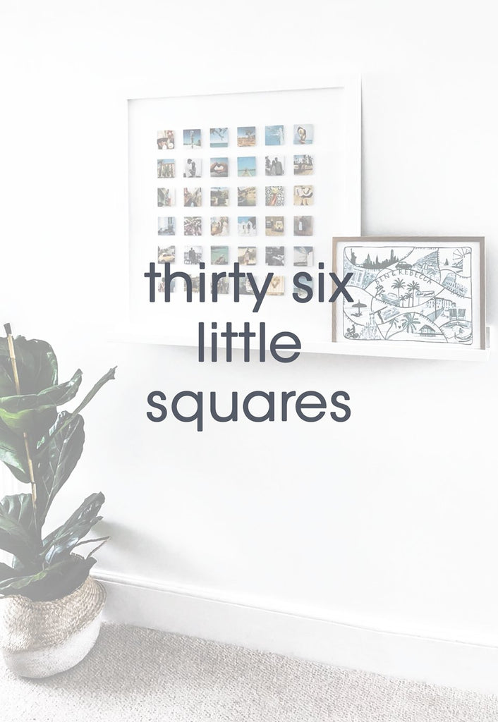 thirty six little squares