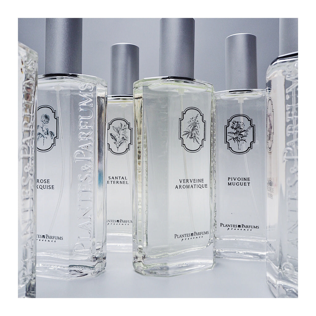 Eau de Toilette range by Plantes et Parfum from frenchsoaps.co.uk