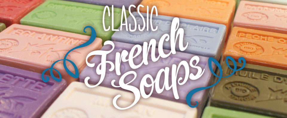 Classic French Soaps with Organic Argan 0il