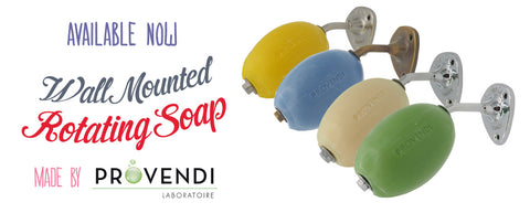 Browse our Wall Mounted Rotating Soap Holders and Refills collection.
