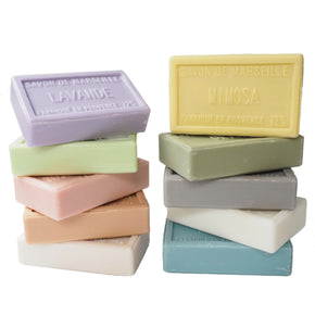 Boxed set of 10 fragrant Marseille  Soaps