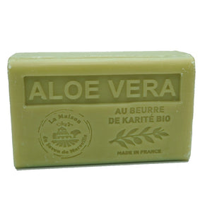 Aloe Vera French Soap with organic Shea Butter 125g