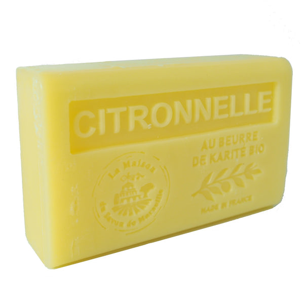 Citronella French Soap with organic Shea Butter 125g
