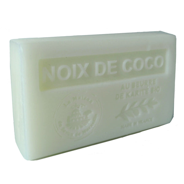 Coconut French Soap with organic Shea Butter 125g