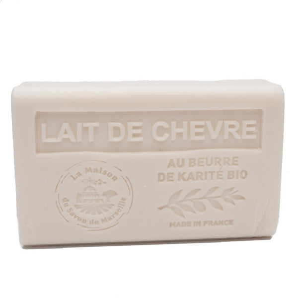 Goats Milk French Soap with organic Shea Butter 125g