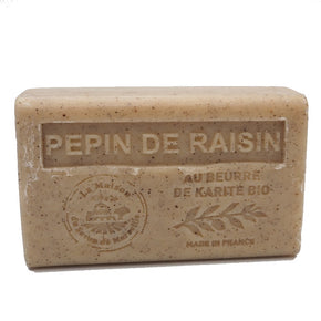 Grape Seed French Soap with organic Shea Butter 125g