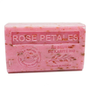 Rose Petals French Soap with organic Shea Butter 125g