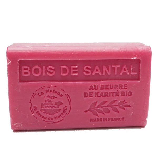 Sandalwood (Bois de Santal) French Soap with organic Shea Butter 125g