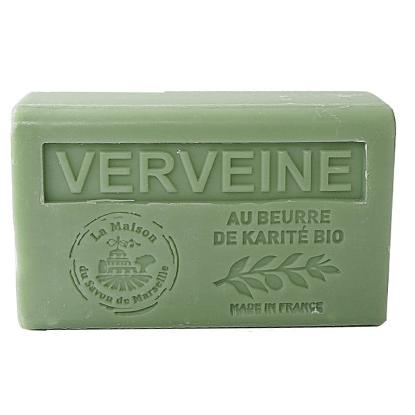 Verbena French Soap with organic Shea Butter 125g
