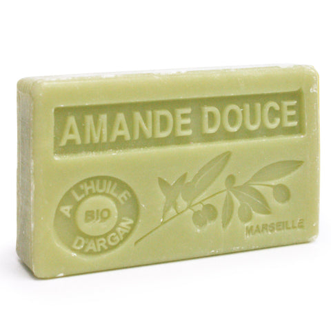 Gentle Almond Soap with Organic Argan Oil