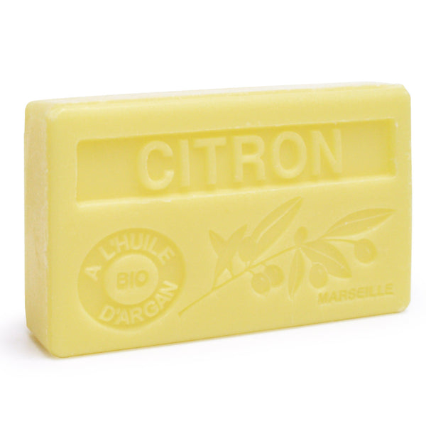 Lemon Soap with Organic Argan Oil