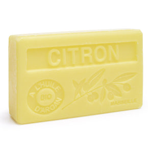 Fresh Lemon Soap with Organic Argan Oil
