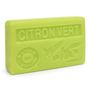 Citron Vert French Soap with Organic Argan Oil