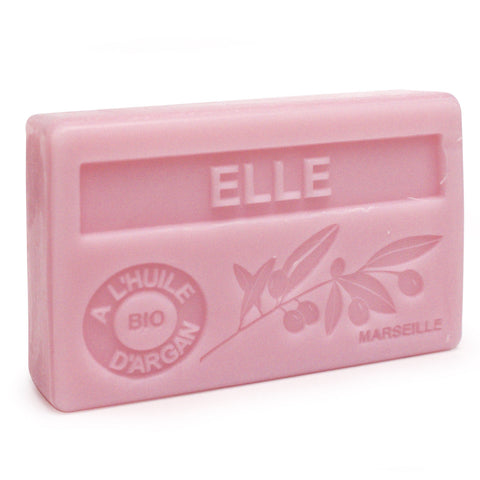 Elle French Soap with Organic Argan Oil