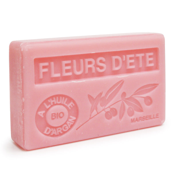 Summer Flowers Soap with Organic Argan Oil 100g