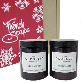 Geodesis Festive Scented Candles Gift Set
