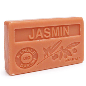 Jasmine Scented Soap with Organic Argan Oil