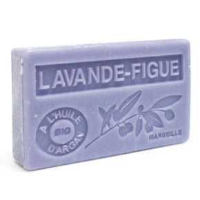 Lavender & Fig Scented Soap with Organic Argan Oil